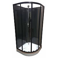 Душова кабіна 90х90 Veronis BKN-1-07 з задніми стінками