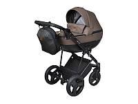 Детская коляска 2 в 1 Angelina Kapris коричневая color 7