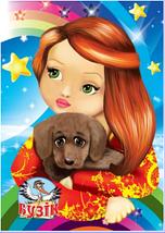 Блокнот Фолдер Дитячий (з глітером) формат А7,50 аркушів, спіраль, фото 3