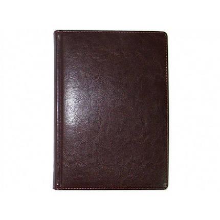 """Щоденник  """"SARIF"""" 176арк., бордовий, 3В-83, Ф.210х290, фото 2"""
