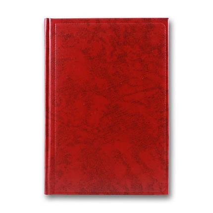 Діловий щоденник Miradur недатований, червоний, А5, фото 2
