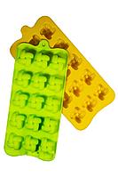 Силиконовая форма для конфет из шоколада, карамели, мармелада Плетенка на 15 ячеек