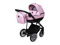 Детская коляска 2 в 1 Angelina Kapris Luxury розовая color 11