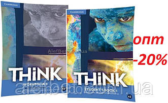 Английский язык / Think / Student's+Workbook. Учебник+Тетрадь (комплект), 1 / Cambridge