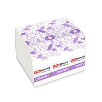 Папір туалетний PRO Comfort eco в аркушах 2-х шаровий  250 листів,за1 шт