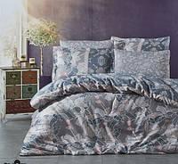 Комплект постельного белья Nazenin сатин размер евро PIKON BEJ