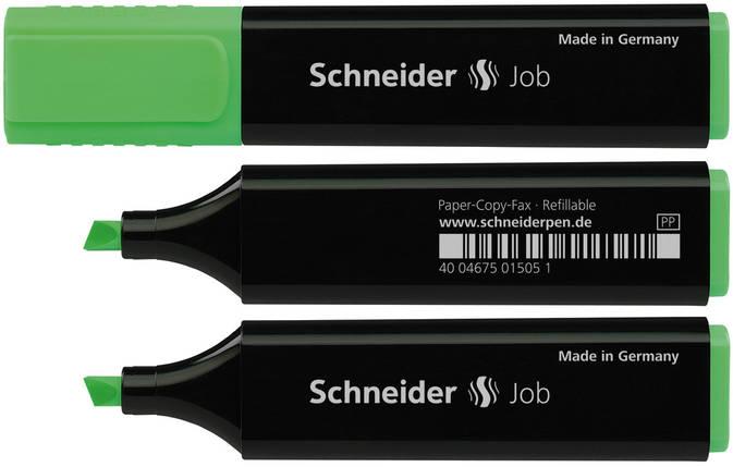 Маркер текстовий Schneider 1504, Job 150, зелений, фото 2
