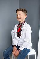 Дитяча сорочка для хлопчика Мишко