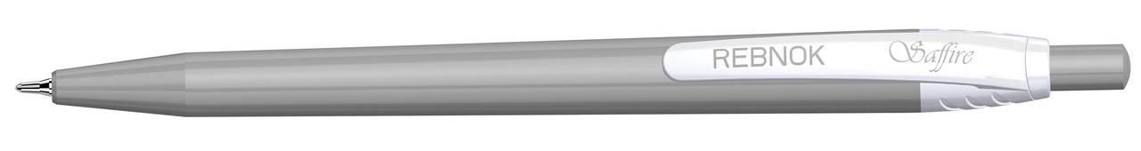 Кулькова ручка Rebnok, Saffire, 0.7 мм, автомат, асорті, синій, фото 2