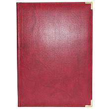 """Папка вітальна, """"Miradur"""" червона, Ф.230х320, ППВ-5 (1/10)"""