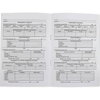 Розрахункова книжка (електроенергія), фото 2