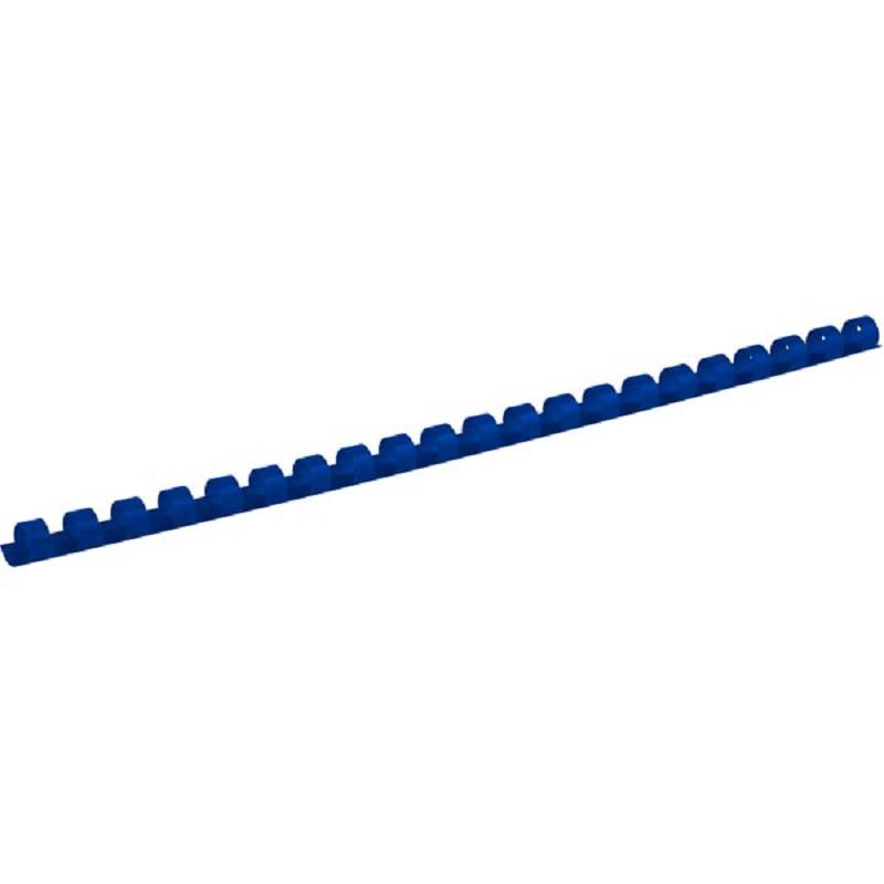 Пружина пластикова d 22 мм, синя, (1уп./50 шт)