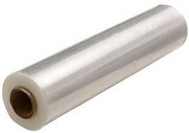 Стрейч-плівка ширина 500 мм, щільністю 20 мкм, вторинна ручна біла (вага-2,2кг) (1)