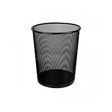 Корзина для сміття PRO, 12л, металева чорна