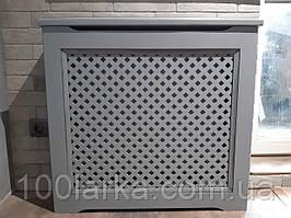 Декоративний екран (Короб) решітка на батарею опалення R101-K
