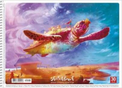 Альбом для малювання А4, Школярик Star, 30 аркушiв, фото 2