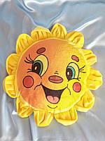 """Игрушка подушка Солнышко -Подарок для ребенка игрушка с надписью """"С Днем рождения, Солнышко"""""""