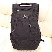 Надежный мужской городской рюкзак Onepolar 1359 для ноутбука черный 25 литров