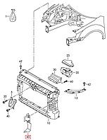 Воздуховод передней панели VW Passat B7 USA 2011-2015     561121283     561121284