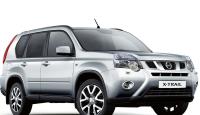 Задняя защита бампера Nissan X-Trail T31