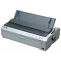 Принтер Epson FX-2190 (C11C526022) Принтер матричний Epson FX-2190 A3 (матричний, 566 симв/с, 128 Кб, IEEE1284, USB, )