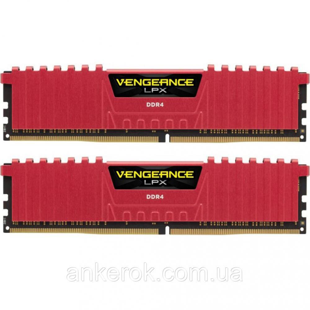 Оперативна пам'ять Corsair 16GB (2x8GB) DDR4 3000 MHz (CMK16GX4M2B3000C15R)