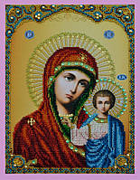 Набор для вышивки бисером Казанская Икона Божией Матери
