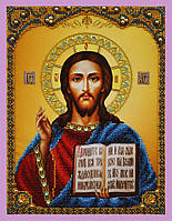 Набор для вышивки бисером Икона Христа Спасителя