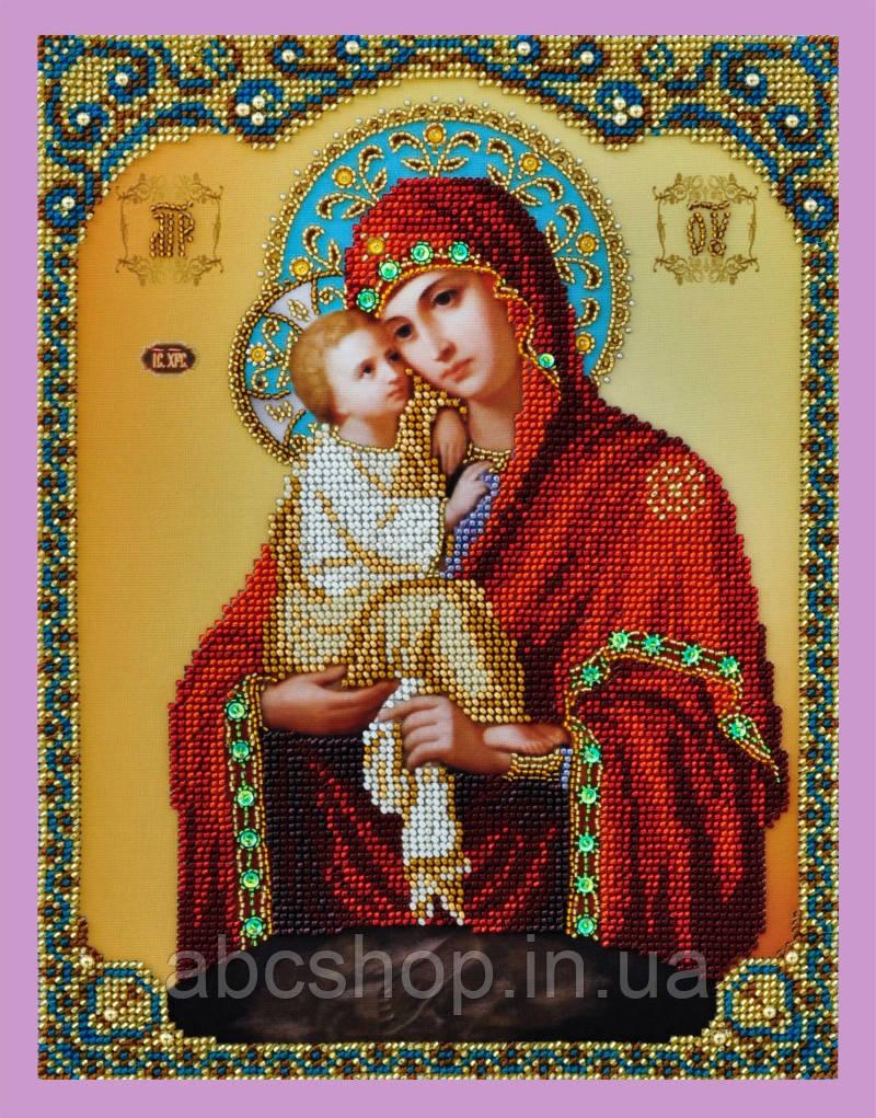 """Набор для вышивки бисером Икона Божией Матери """"Почаевская"""""""