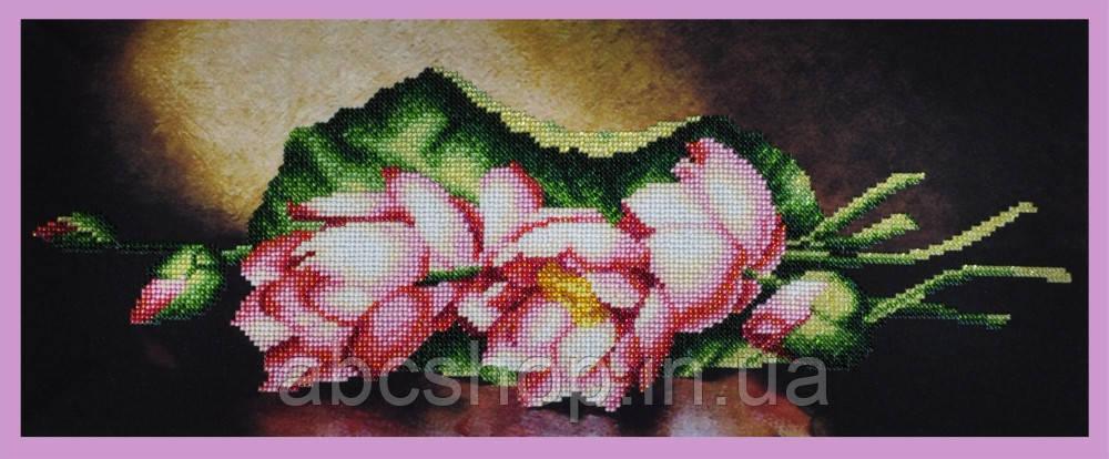 Набор для вышивки бисером Лотосы