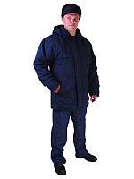 Куртка рабочая на синтапоне, зимняя спецодежда под заказ, утепленная рабочая одежда