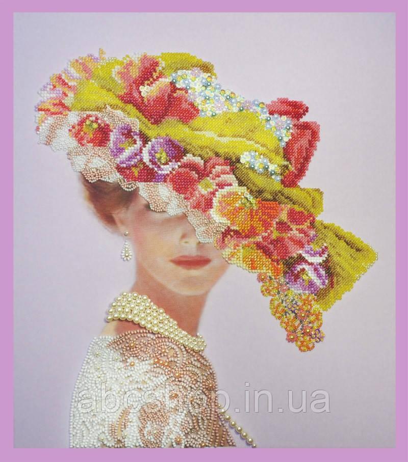 Набор для вышивки бисером Викторианская дама