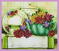 Набор для вышивки бисером Цветочный чай