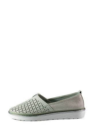 Мокасіни жіночі Allshoes сірий 16811 (36), фото 2