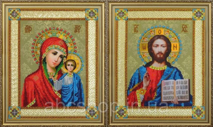 Набор для вышивки бисером Венчальные иконы