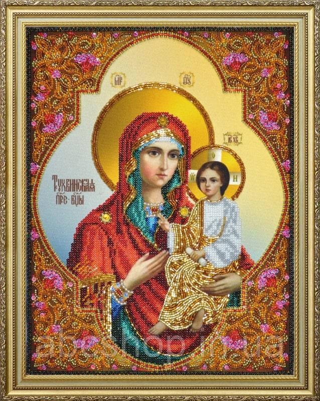 Набор для вышивки бисером Тихвинская икона Божией Матери