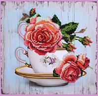 Набор для вышивки бисером Чайный дуэт 1
