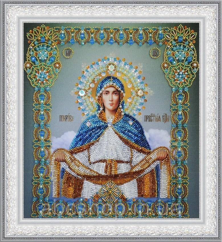 """Икона """"Покров Пресвятой Богородицы"""""""