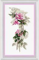 Набор для вышивки крестом Розовая нежность