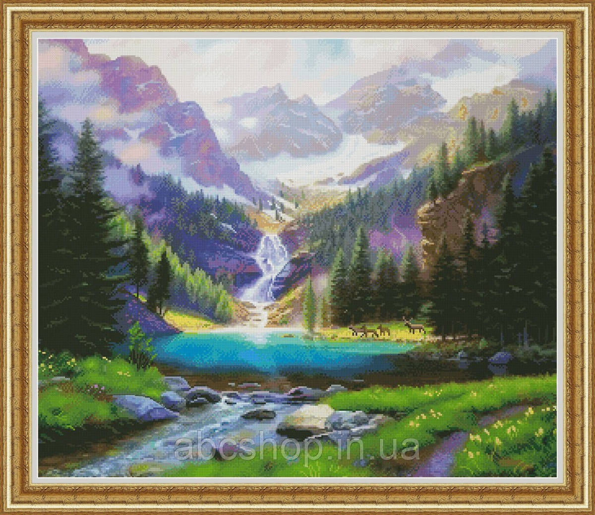 Набор для вышивки крестом Водопад