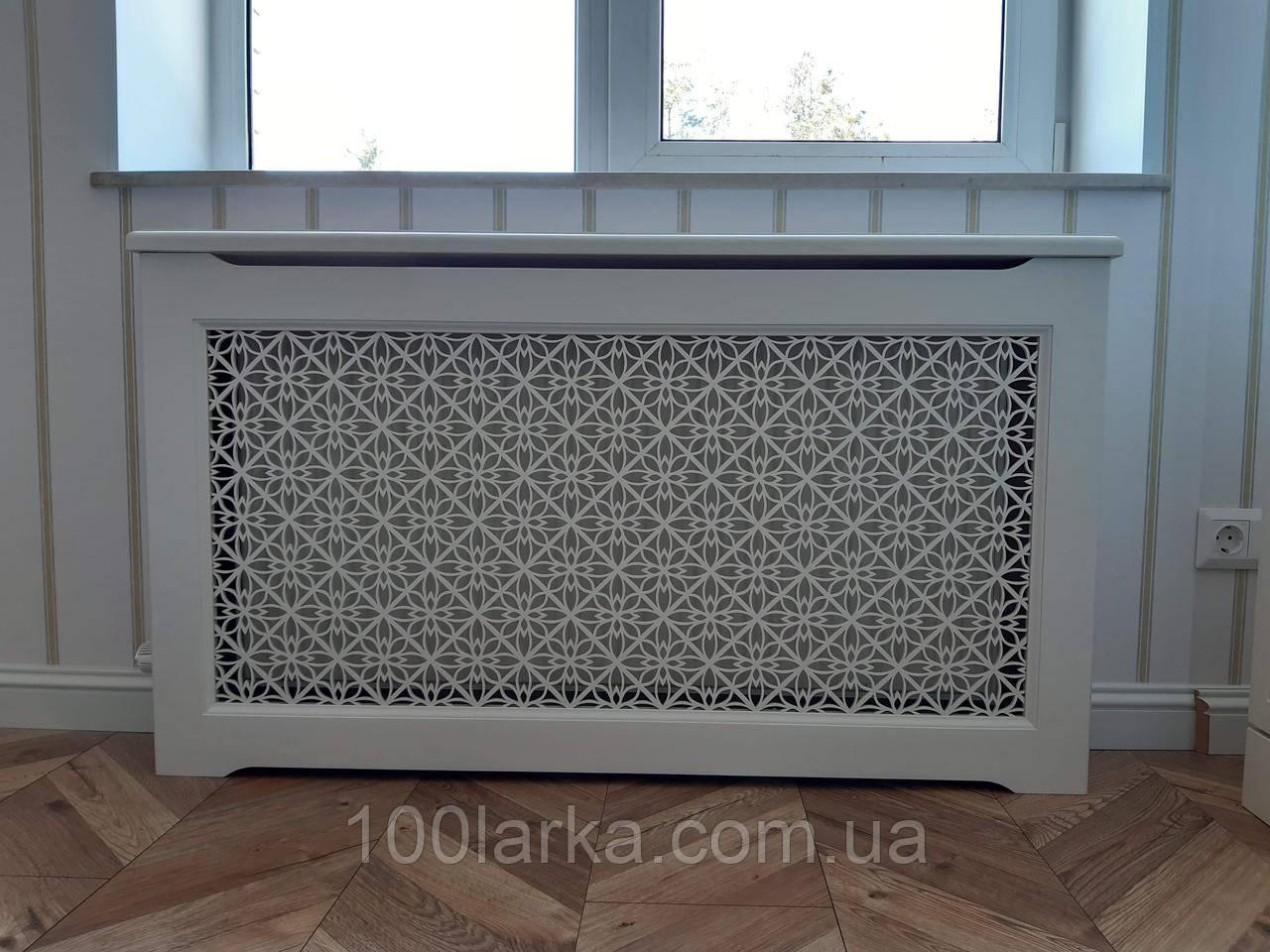 Декоративный экран (решетка) на батарею отопления