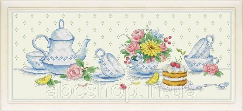 Набор для вышивки крестом К чаю