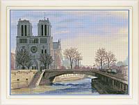 Набор для вышивки крестом Париж