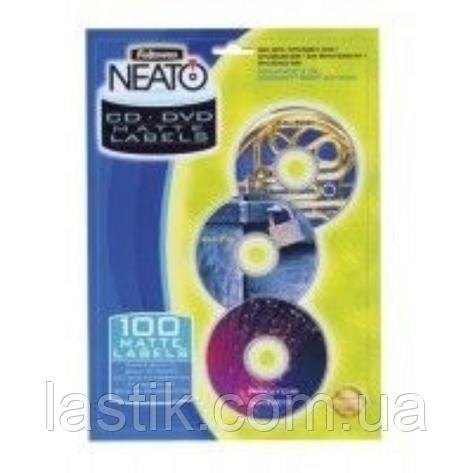 Матовые вкладыши NEATO в коробки Simline для CD/DVD дисков, фото 2
