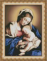 Набор для вышивки крестом Мадонна с младенцем