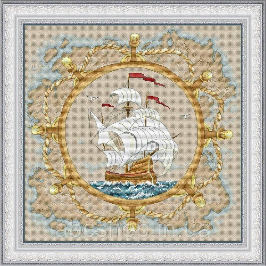 Набор для вышивки крестом Морская история