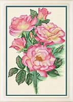 Набор для вышивки крестом Садовые розы