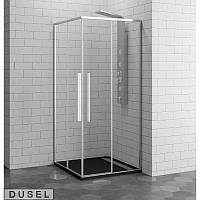 Душевая кабина 90х90см Dusel DL194 Chrome