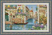 Набор для вышивки крестом Венецианские каналы