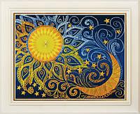 Набор для вышивки нитками День и ночь